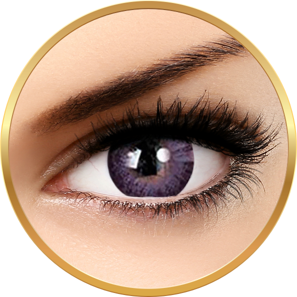 Adore Dare Violet - lentile de contact colorate violet trimestriale - 90 purtari (2 lentile/cutie)