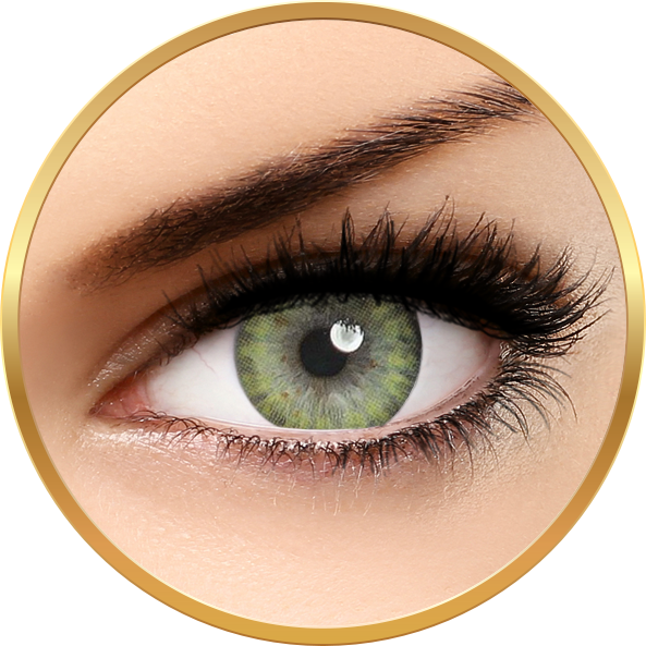Adore Pearl Yellow - lentile de contact colorate galbene trimestriale - 90 purtari (2 lentile/cutie)