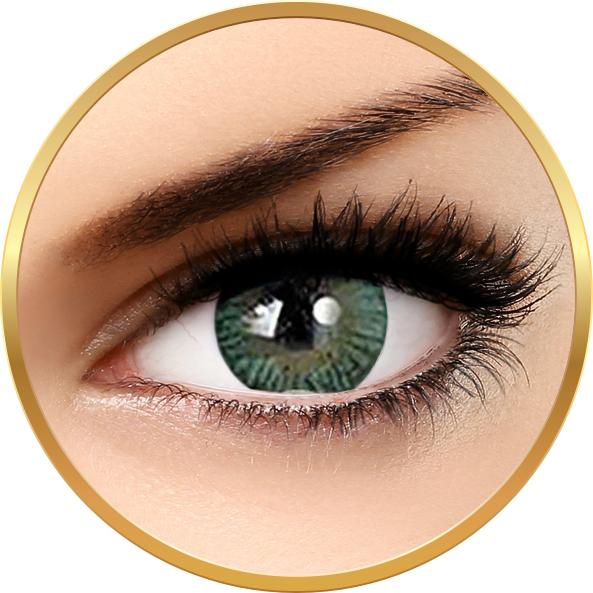Adore Tri Tone Green - lentile de contact colorate verzi trimestriale - 90 purtari (2 lentile/cutie)