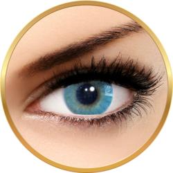 Solotica Hidrocor Azul - lentile de contact colorate albastre anuale - 365 purtari (2 lentile/cutie)
