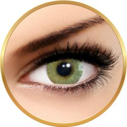 Solotica Hidrocor Mel - lentile de contact colorate verzi anuale - 365 purtari (2 lentile/cutie)