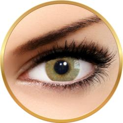 Solotica Hidrocor Ocre - lentile de contact colorate caprui lunare - 30 purtari (2 lentile/cutie)