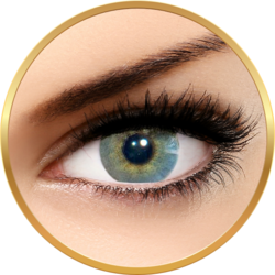 Solotica Hidrocor Quartzo - lentile de contact colorate gri anuale - 365 purtari (2 lentile/cutie)