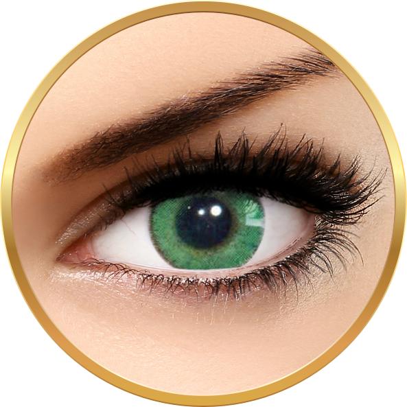 Solotica Natural Colors Verde - lentile de contact colorate verde intens anuale - 365 purtari (2 lentile/cutie)