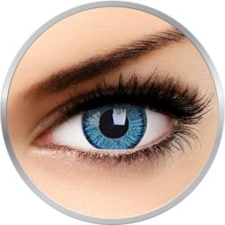 Bright Blue - lentile de contact colorate albastre trimestriale - 90 purtari (2 lentile/cutie)