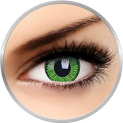 Bright Green - lentile de contact colorate verzi trimestriale - 90 purtari (2 lentile/cutie)