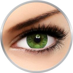 Soflens Natural Colors Amazon - lentile de contact colorate verzi lunare - 30 purtari (2 lentile/cutie)