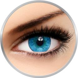 Soflens Natural Colors Pacific - lentile de contact colorate albastre lunare - 30 purtari (2 lentile/cutie)