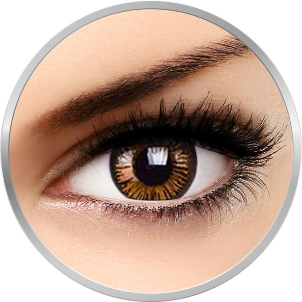 Phantasee Beautiful Eyes Charming Brown - lentile de contact colorate caprui trimestriale - 90 purtari (2 lentile/cutie)