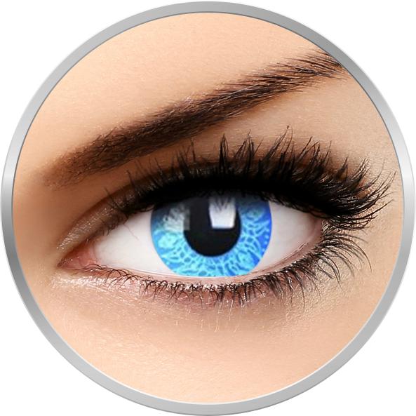Phantasee Fancy Blue Artist - lentile de contact colorate Crazy albastre anuale - 360 purtari (2 lentile/cutie)