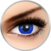 Phantasee Fancy Blue Saphire - lentile de contact Crazy colorate albastre anuale - 360 purtari (2 lentile/cutie)