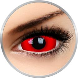 Fancy Daredevil - lentile de contact colorate Crazy rosii anuale - 360 purtari (2 lentile/cutie)