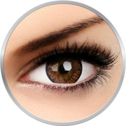 Lovely Eyes Angel Hazel - lentile de contact colorate caprui lunare - 30 purtari (2 lentile/cutie)
