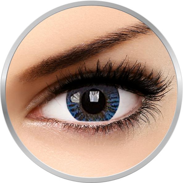Phantasee Natural Blue - lentile de contact colorate albastre trimestriale - 90 purtari (2 lentile/cutie)