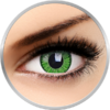 Phantasee Vivid Green - lentile de contact colorate verzi trimestriale - 90 purtari (2 lentile/cutie)