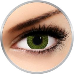 Freshlook Colorblends Gemstone Green - lentile de contact colorate verzi lunare - 30 purtari (2 lentile/cutie)
