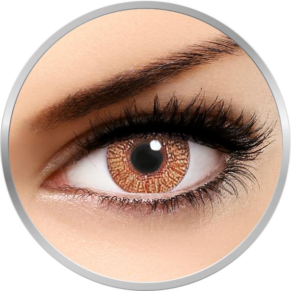 Alcon / Ciba Vision Freshlook Colors Hazel - lentile de contact colorate caprui lunare - 30 purtari (2 lentile/cutie)