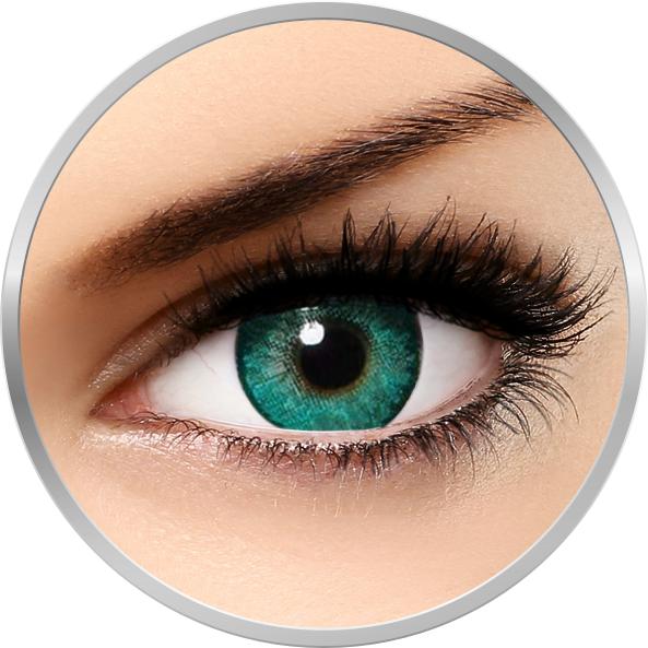 Alcon / Ciba Vision Freshlook Dimensions Carribean Aqua - lentile de contact colorate albastre lunare - 30 purtari (2 lentile/cutie)