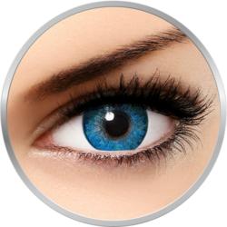 Freshlook Dimensions Pacific Blue - lentile de contact colorate albastre lunare - 30 purtari (2 lentile/cutie)