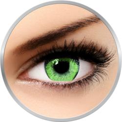 Queen's Solitaire Jade - lentile de contact colorate verzi trimestriale - 90 purtari (2 lentile/cutie)