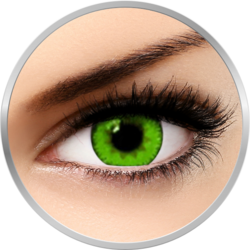 Queen's Trilogy Dark Green - lentile de contact colorate verzi lunare - 30 purtari (2 lentile/cutie)