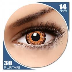 ColorNova Hazel - lentile de contact colorate caprui trimestriale - 30 purtari (2 lentile/cutie)