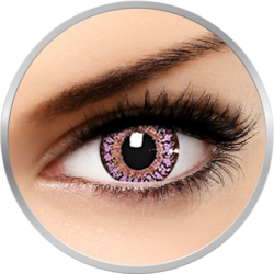ColorNova Violet - lentile de contact colorate violet trimestriale - 30 purtari (2 lentile/cutie)