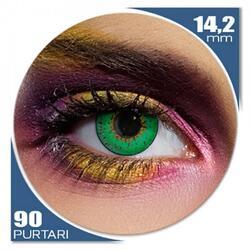 Edit 3 Tone Green - lentile de contact colorate verzi trimestriale - 90 purtari (2 lentile/cutie)