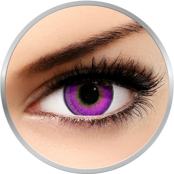 Edit 3 Tone Violet - lentile de contact colorate violet trimestriale - 90 purtari (2 lentile/cutie)