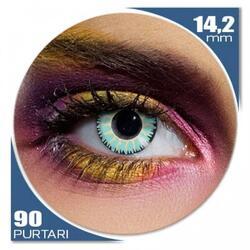 Edit Glamour Aqua - lentile de contact colorate albastre trimestriale - 90 purtari (2 lentile/cutie)
