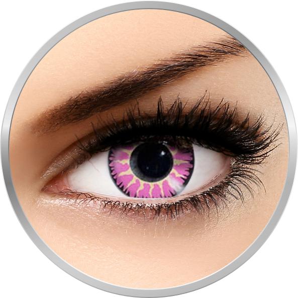 Edit Glamour Violet - lentile de contact colorate violet trimestriale - 90 purtari (2 lentile/cutie)