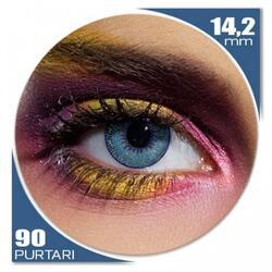 Edit Mystic Aqua - lentile de contact colorate albastre trimestriale - 90 purtari (2 lentile/cutie)
