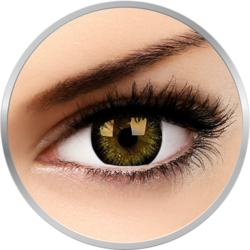 Big eyes Gorgeous Brown - lentile de contact colorate maro trimestriale - 90 purtari (2 lentile/cutie)