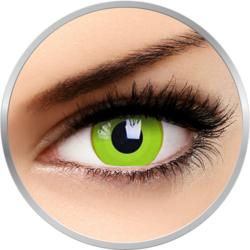 Crazy Avatar - lentile de contact colorate galbene anuale - 360 purtari (2 lentile/cutie)