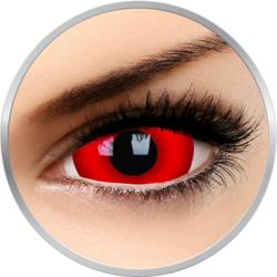 Crazy Daredevil - lentile de contact colorate rosii anuale - 360 purtari (2 lentile/cutie)
