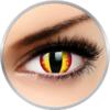 ColourVUE Crazy Dragon Eyes - lentile de contact colorate galbene anuale - 360 purtari (2 lentile/cutie)
