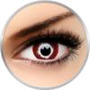 ColourVUE Crazy Hellblazer - lentile de contact colorate rosii anuale - 360 purtari (2 lentile/cutie)