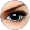 ColourVUE Crazy Nebulos - lentile de contact colorate albastre/negre anuale - 360 purtari (2 lentile/cutie)