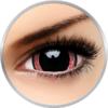 ColourVUE Crazy Ravenous - lentile de contact colorate rosii/negre anuale - 360 purtari (2 lentile/cutie)