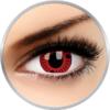 ColourVUE Crazy Sasuke - lentile de contact colorate rosii anuale - 360 purtari (2 lentile/cutie)
