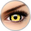ColourVUE Crazy Tigera - lentile de contact colorate galbene anuale - 360 purtari (2 lentile/cutie)