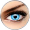 ColourVUE Crazy Underworld Selene - lentile de contact colorate albastre anuale - 360 purtari (2 lentile/cutie)