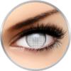 ColourVUE Crazy White Screen - lentile de contact colorate albe anuale - 360 purtari (2 lentile/cutie)
