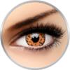 ColourVUE Crazy Yellow Leopard - lentile de contact colorate galbene anuale - 360 purtari (2 lentile/cutie)