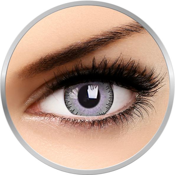 ColourVUE Fusion Grey/Violet - lentile de contact colorate violet trimestriale - 90 purtari (2 lentile/cutie)