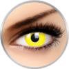 ColourVUE Glow Yellow - lentile de contact colorate Crazy galbene anuale - 360 purtari (2 lentile/cutie)