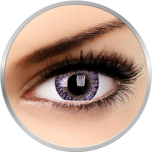 ColourVUE TruBlends Violet - lentile de contact colorate violet lunare 30 purtari (2 lentile/cutie)