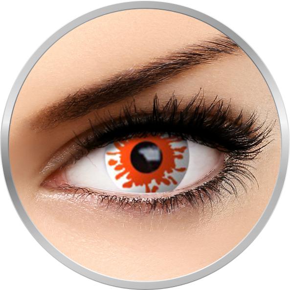 Auva Vision Fantaisie Blast - lentile de contact Crazy pentru Halloween anuale - 365 purtari (2 lentile/cutie)