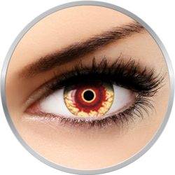 Fantaisie Demon - lentile de contact Crazy pentru Halloween anuale - 365 purtari (2 lentile/cutie)