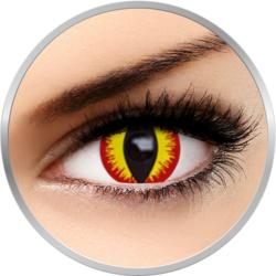 Fantaisie Devil - lentile de contact Crazy pentru Halloween 1 purtare - One day (2 lentile/cutie)